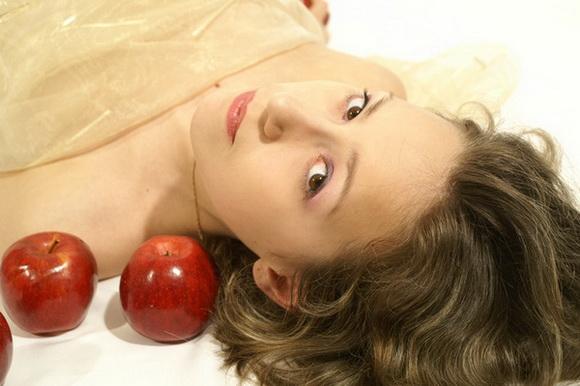 Маски из яблока
